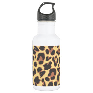 Leopard Print Animal Skin Patterns 532 Ml Water Bottle
