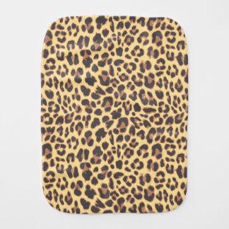 Leopard Print Animal Skin Patterns Baby Burp Cloth