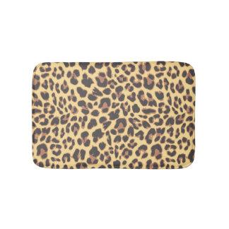 Leopard Print Animal Skin Patterns Bathroom Mat