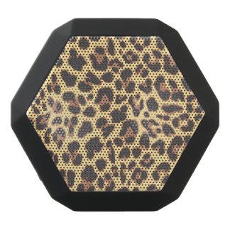 Leopard Print Animal Skin Patterns Black Bluetooth Speaker