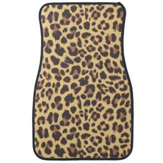 Leopard Print Animal Skin Patterns Car Mat