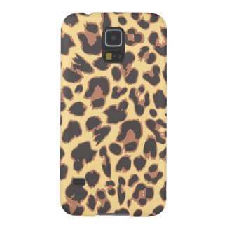 Leopard Print Animal Skin Patterns Cases For Galaxy S5
