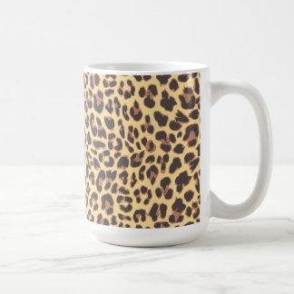 Leopard Print Animal Skin Patterns Coffee Mug