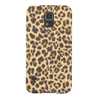Leopard Print Animal Skin Patterns Galaxy S5 Cover