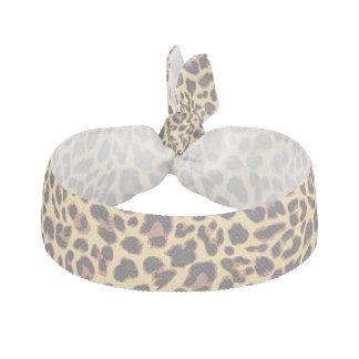 Leopard Print Animal Skin Patterns Hair Tie
