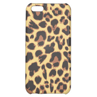 Leopard Print Animal Skin Patterns iPhone 5C Cases