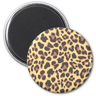 Leopard Print Animal Skin Patterns Magnet