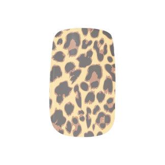 Leopard Print Animal Skin Patterns Minx Nail Art