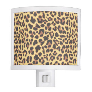 Leopard Print Animal Skin Patterns Nite Lite