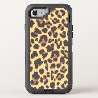 Leopard Print Animal Skin Patterns OtterBox Defender iPhone 8/7 Case
