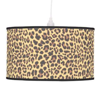 Leopard Print Animal Skin Patterns Pendant Lamp