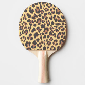 Leopard Print Animal Skin Patterns Ping Pong Paddle