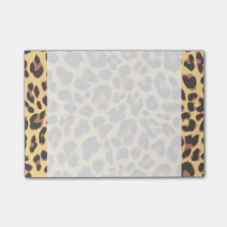 Leopard Print Animal Skin Patterns Post-it® Notes