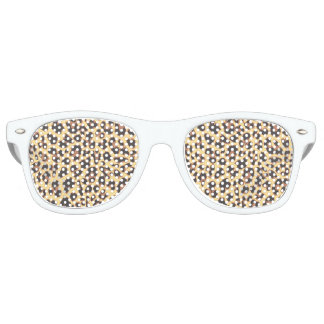 Leopard Print Animal Skin Patterns Retro Sunglasses