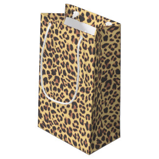 Leopard Print Animal Skin Patterns Small Gift Bag