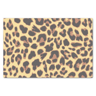 Leopard Print Animal Skin Patterns Tissue Paper