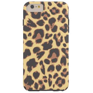 Leopard Print Animal Skin Patterns Tough iPhone 6 Plus Case