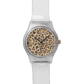 Leopard Print Animal Skin Patterns Watch