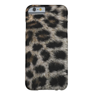 Leopard print barely there iPhone 6 case