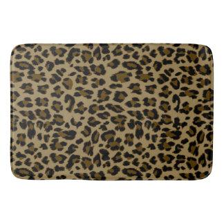 Leopard Print Bath Mat