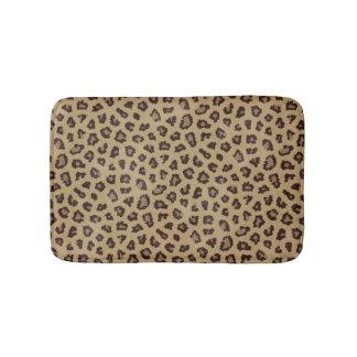 Leopard Print Bathroom Mat