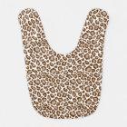 Leopard Print Bib