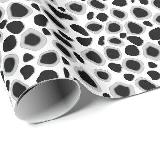Leopard Print - Black and White