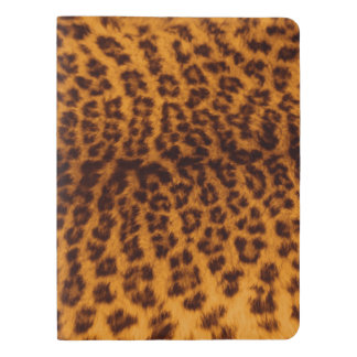 Leopard print black spotted Skin Texture Template Extra Large Moleskine Notebook