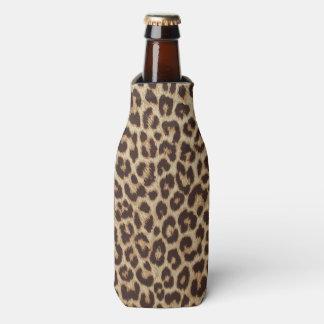 Leopard Print Bottle Cooler