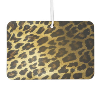 Leopard Print Car Air Freshener
