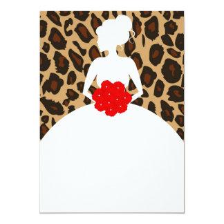 Leopard Print Card