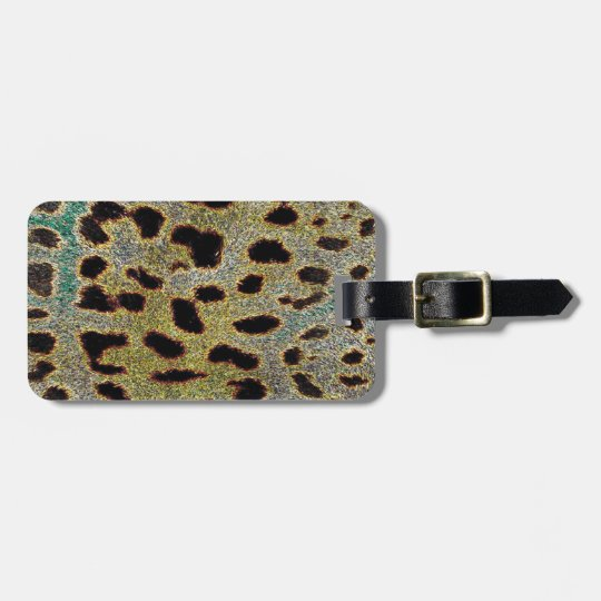 Leopard Print Collection Bag Tag