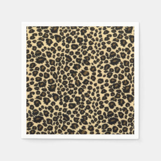 Leopard Print Disposable Napkin
