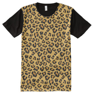 Leopard Print Faux Fur Animal Skin
