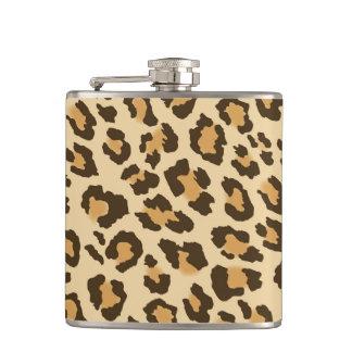 Leopard Print Flask