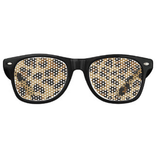 Leopard Print Funky Party Shades