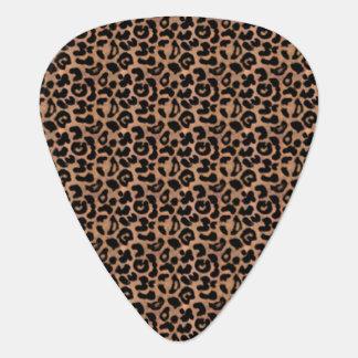 Leopard Print Guitar Pick
