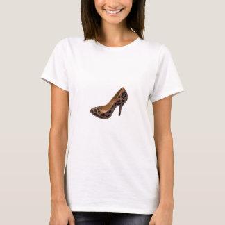 Leopard Print High Heel Shoe Pump T-Shirt