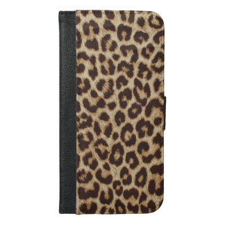 Leopard Print iPhone 6 Plus Wallet Case