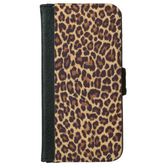 Leopard Print iPhone 6 Wallet Case