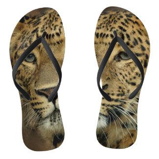 Leopard Print Lover Flip Flops