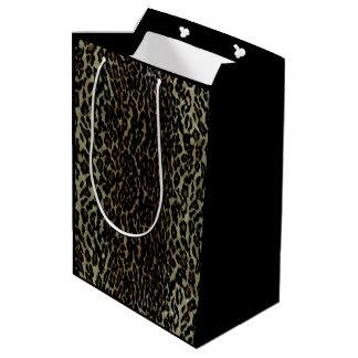 Leopard Print Medium Gift Bag