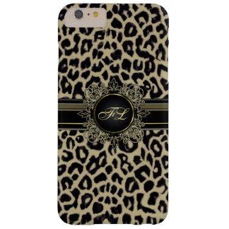 Leopard Print Monogram iPhone 6 Plus Case