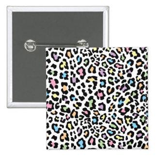 Leopard Print Multi Colors Buttons