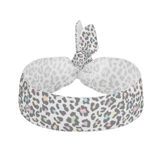 Leopard Print Multi Colors Hair Tie