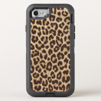 Leopard Print OtterBox Defender iPhone 7 Case