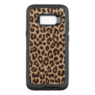 Leopard Print OtterBox Defender Samsung Galaxy S8+ Case