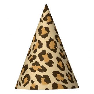 Leopard Print Party Hat