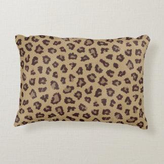 Leopard Print Pattern Decorative Pillow