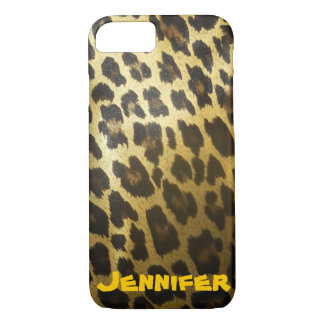 Leopard Print Personalized Case-Mate iPhone Case